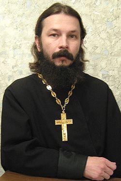 Священник Павел Гумеров, клирик храма святителя Николая на Рогожском кладбище г. Москвы