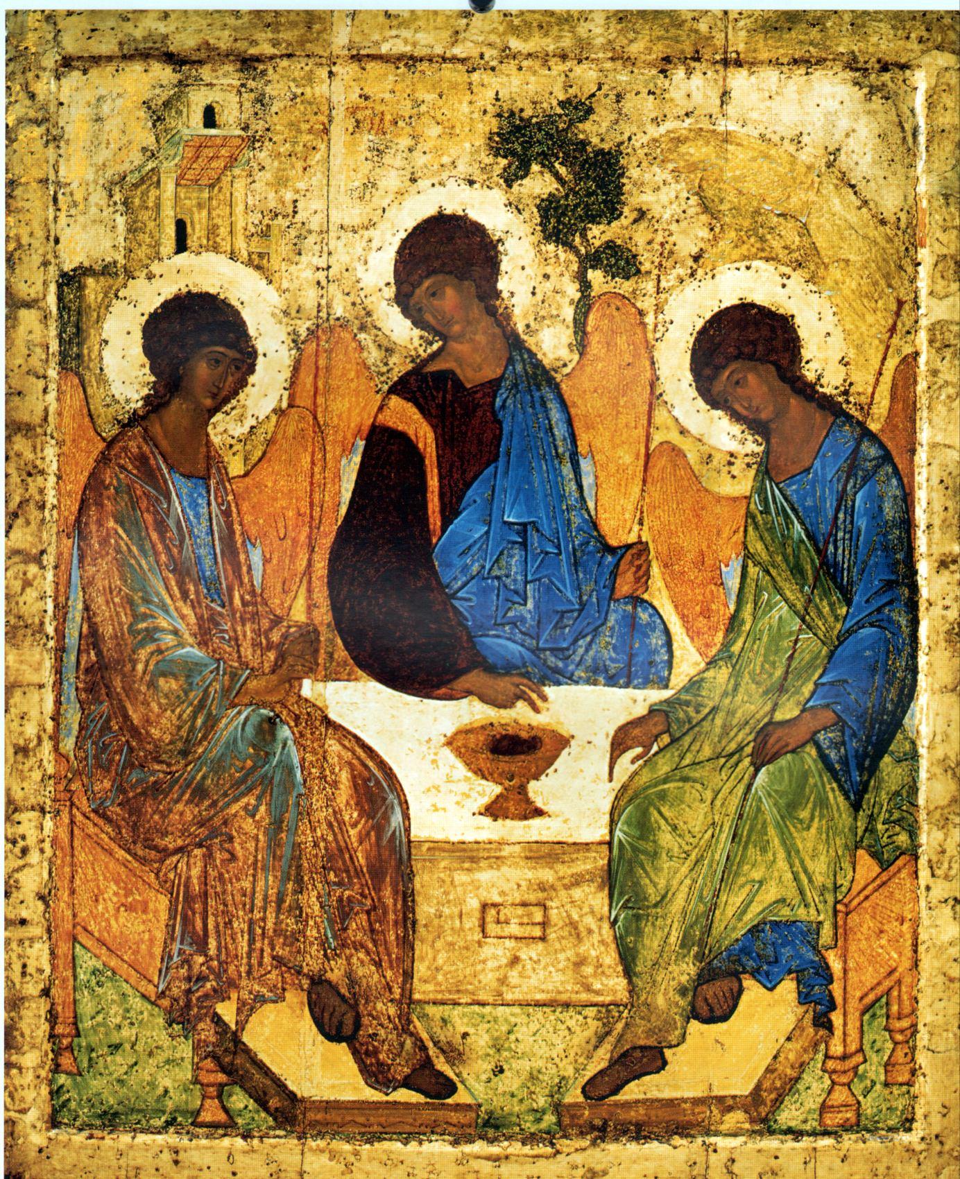 «Троица» (также «Гостеприимство Авраама») — икона Святой Троицы, написанная Андреем Рублёвым в XV веке