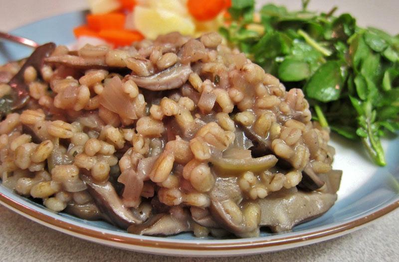 перловка с грибами рецепт с фото
