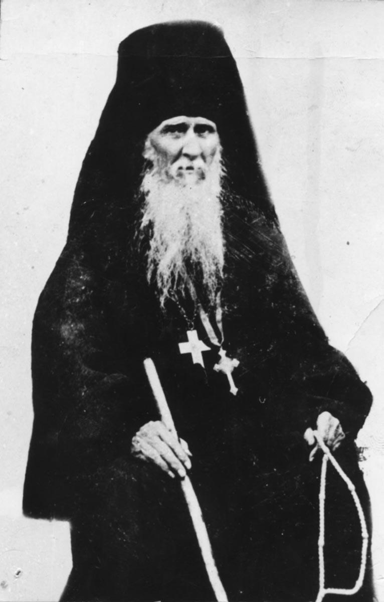 Преподобный Амвросий Оптинский. Фотография