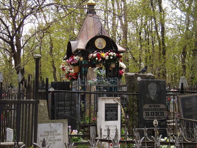бриллиантов о месте кончины и погребения: