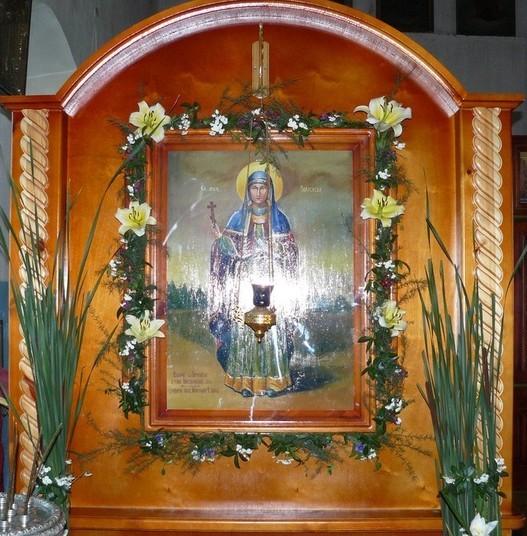 Чудотворная икона великомученицы Параскевы Пятницы из станицы Митякинской