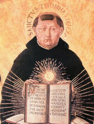 an analysis of the nature of god in the works of saint thomas aquinas Lecture 28 aquinas and dante: the medieval philosopher, saint thomas aquinas (1225-1274), was born in the castle of his father at roccasecca, near naples his education began at the ancient benedictine monastery at monte cassino.
