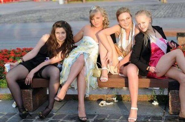 откровенные фото русских выпускниц