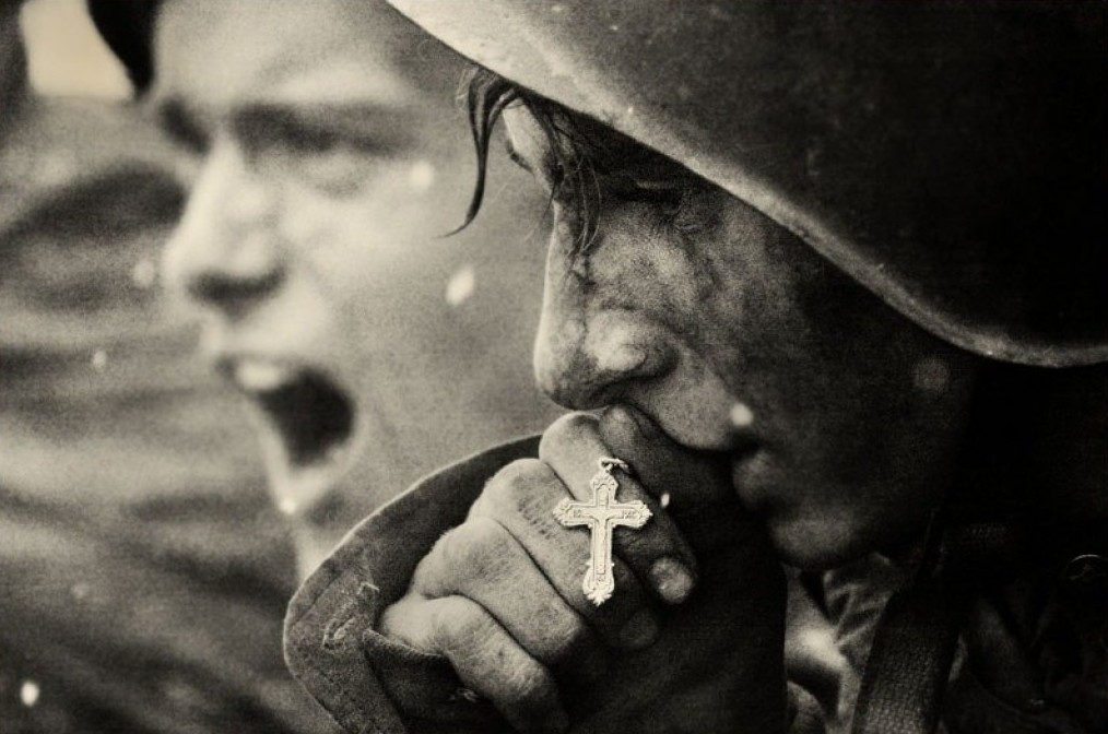 Молитва о спасение от войны