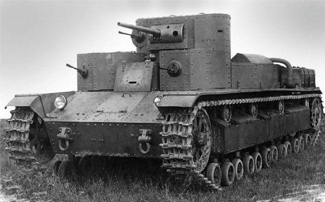 Средний советский танк Т-28 height=342