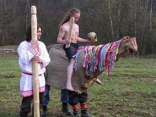 Современные русские неоязычники. Такие  Православной Церкви не нужны однозначно