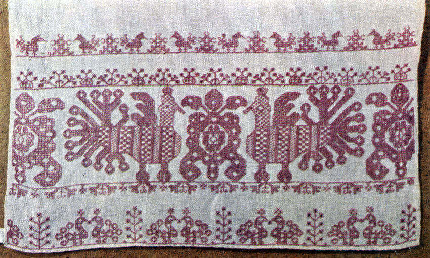 Вышивка на полотенцах в ростове