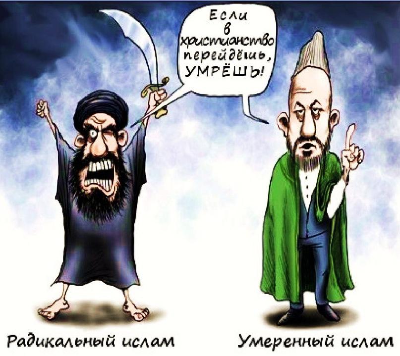 Разница между умеренным и радикальным исламом