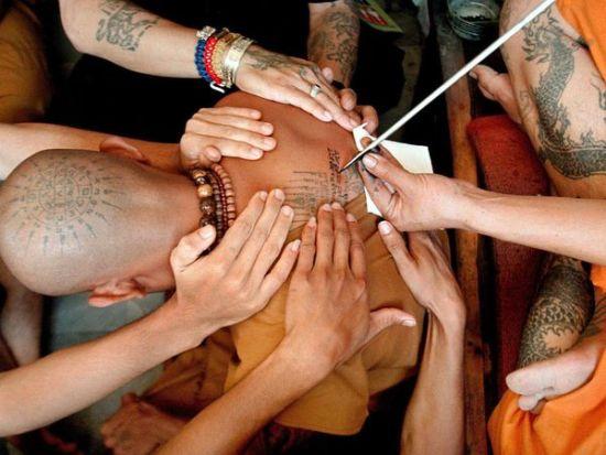 Буддийские татуировки